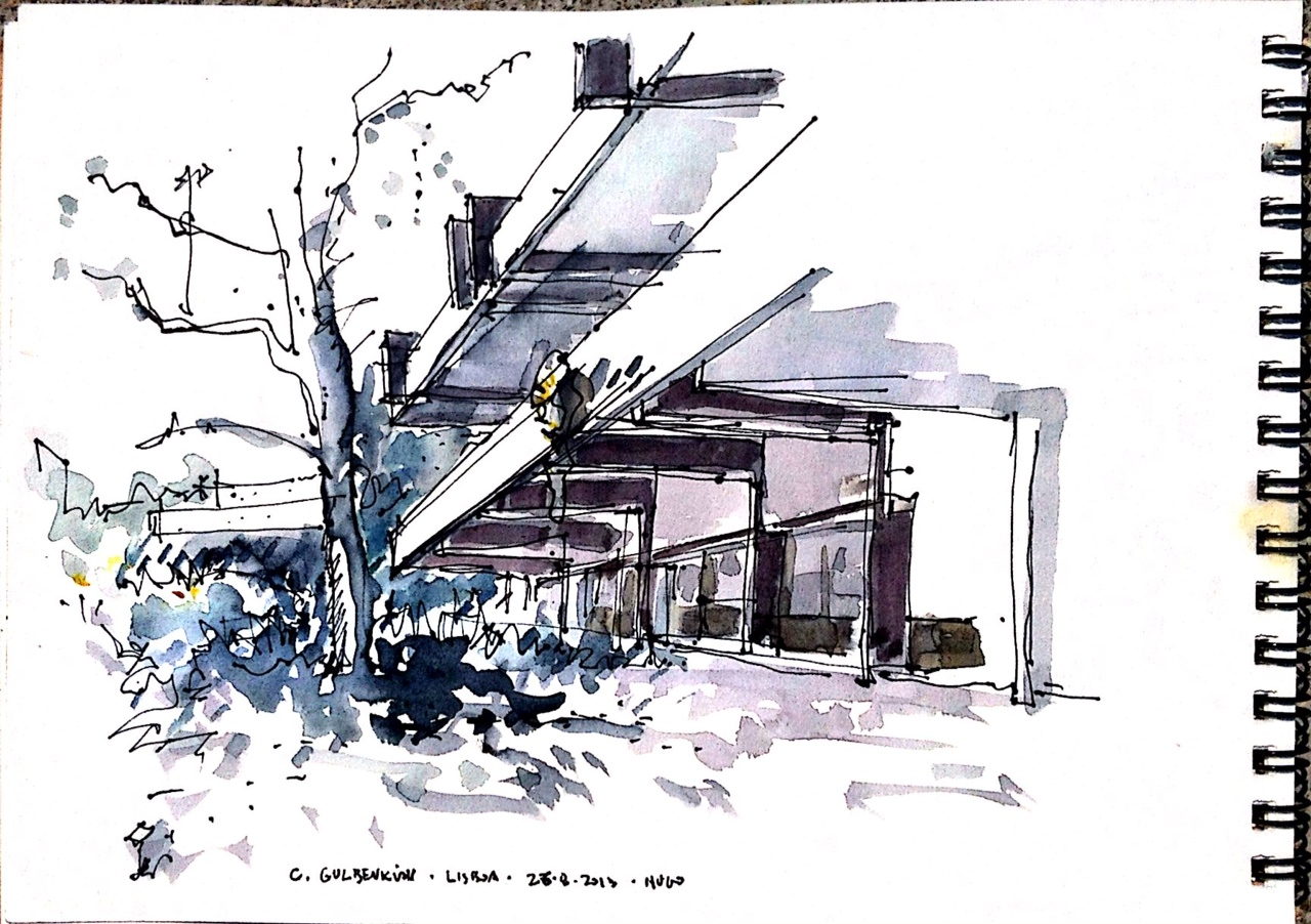 Arquitectura a fresh drawing every day page 20 for Piscina upv valencia